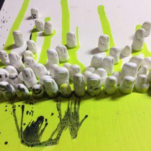 Foto Themenausstellung Fingerspitzengefühl in der Galerie Artraum