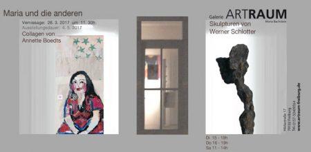 Ausstellung in der Galerie Artraum