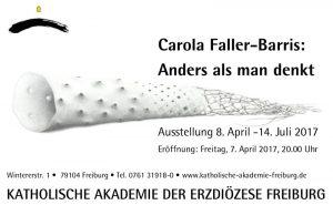 Ausstellung Carola Faller-Barris Katholische Akademie