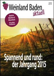 Weinland Baden aktuell