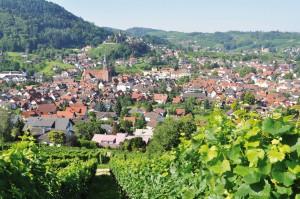 Foto von Kappelrodeck, das Rotweindorf in der Ortenau