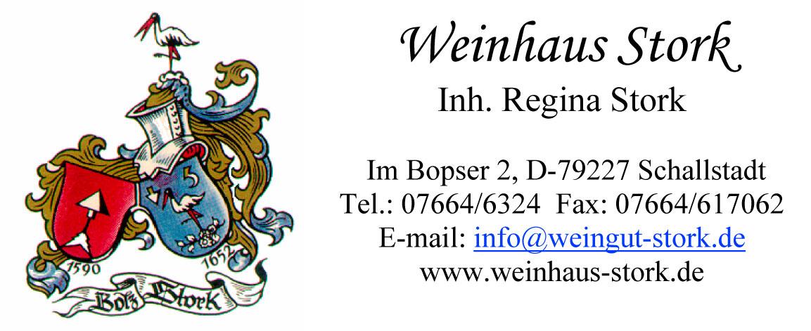 Anzeige Weinhaus Stork