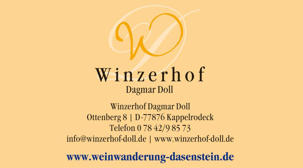 Anzeige Winzerhof Doll