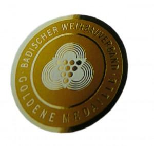 Sommerweine 2016. Siegel des Badischen Weinbauverbands