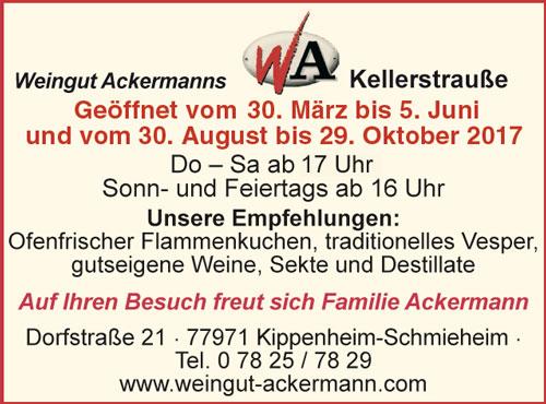 Ackermanns Kellerstrauße Kippenheim