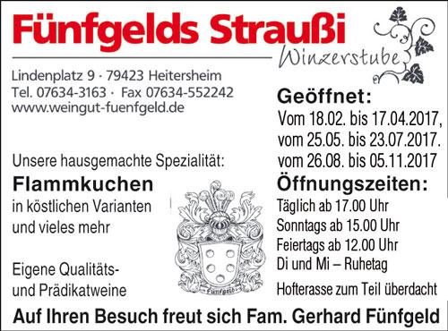 Fünfgelds Straußi Heitersheim
