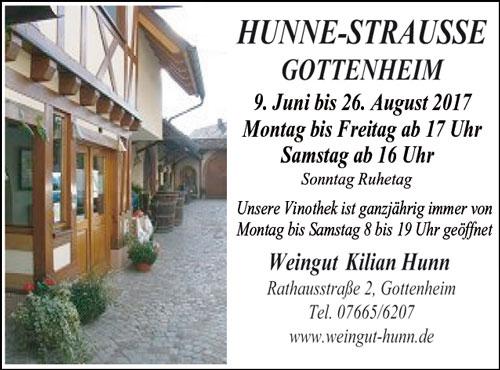 Hunne-Strausse Gottenheim
