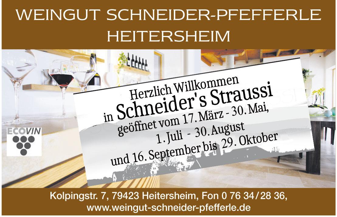 Weingut Schneider-Pfefferle Heitersheim
