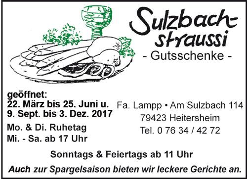 Sulzbachstraussi Heitersheim