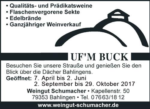Uf'm Buck Bahlingen