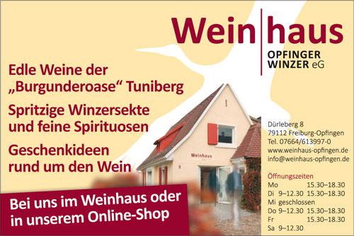 Weinhaus Opfinger Winzer