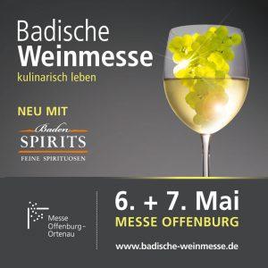 Badische Weinmesse am 6. und 7. Mai
