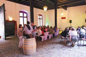 Foto der ECOVIN-Präsentation 2016. ECOVIN-Präsentation 2017 findet im Restaurant Feinhaid statt