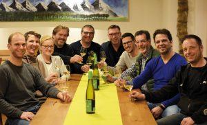 """Die Gruppe der """"Weingräfler"""""""