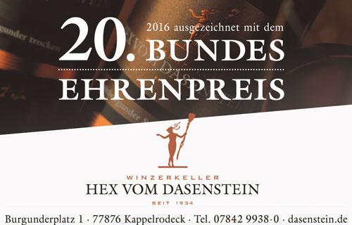 Anzeige Hex von Dasenstein
