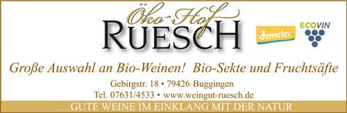 Anzeige Ökohof Rüsch Buggingen
