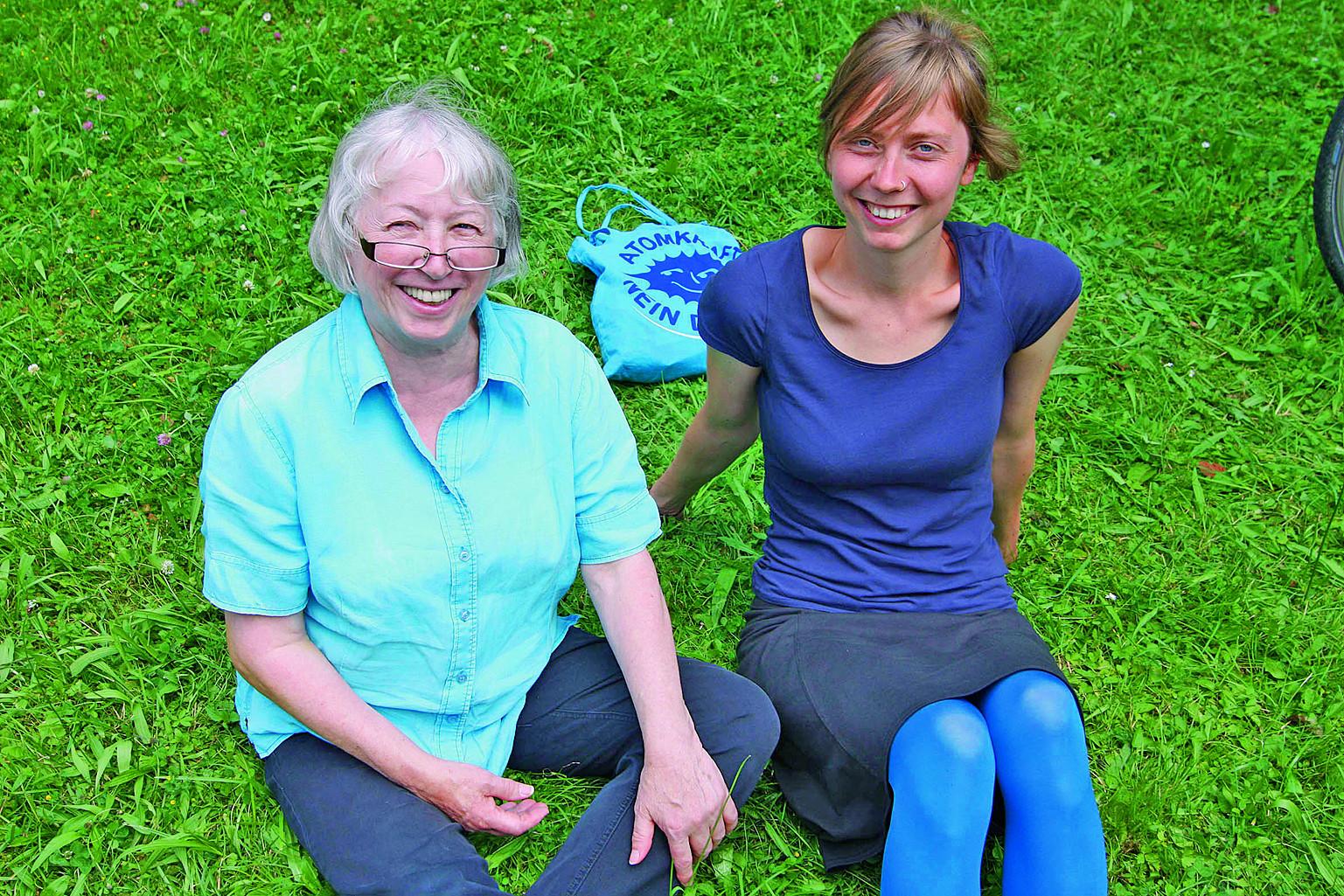 Ursula Sladek und Luise Neumann-Cosel