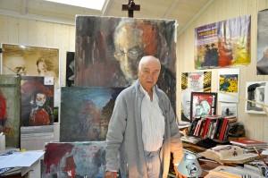 Armin Mueller Stahl als Maler