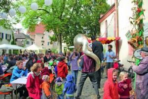 AgriKultur Festival im Eschholzpark in Freiburg