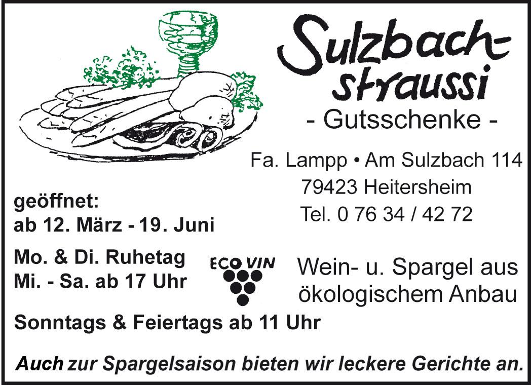 Straußenführer Sulzbach-Strauße