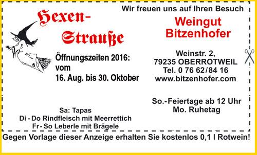 Anzeige Hexenstrausse Oberrotweil