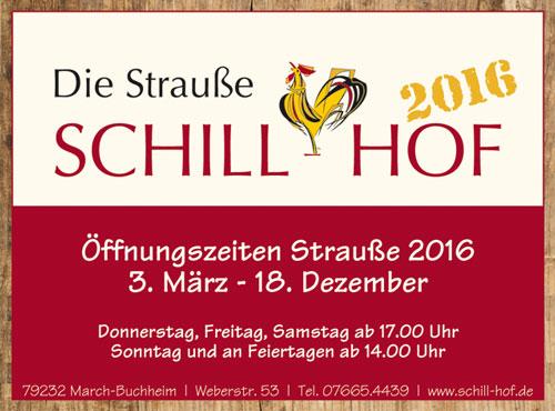 Anzeige Schill Hof Strausse