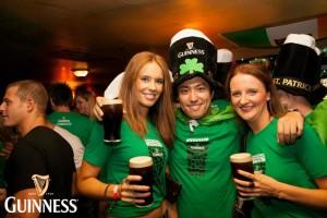 Foto vom St. Patrick's Day