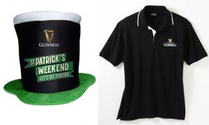 Guinness Hut und Shirt