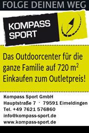 Anzeige Kompass Sport Eimeldingen