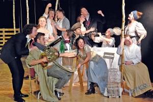 Play.Tschechow: Eine lustige und originelle Inszenierung im Freiburger E-Werk