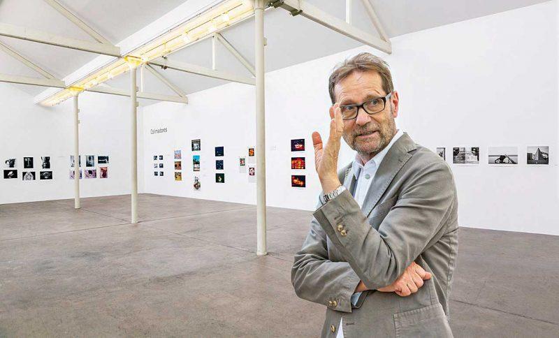 Michael Horbach in den Räumen seiner Stiftung (© Thomas Karsten)