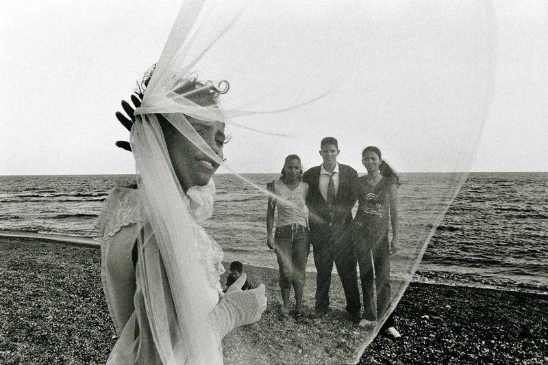 Raul Cañibano: o. T., aus der Serie Malecón, Cuba, 2006