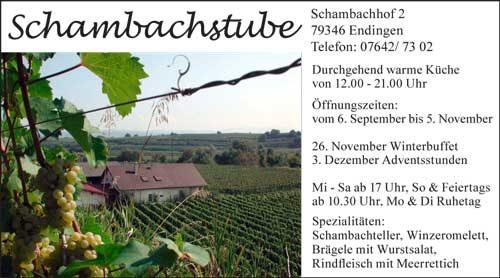 Schambachstube