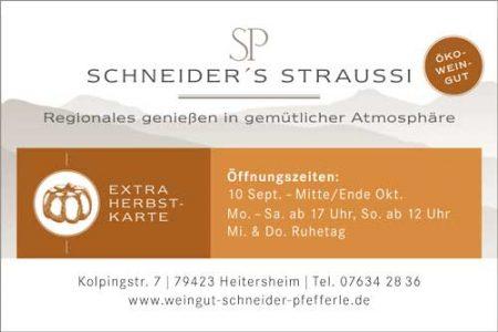 Schneiders Straußi