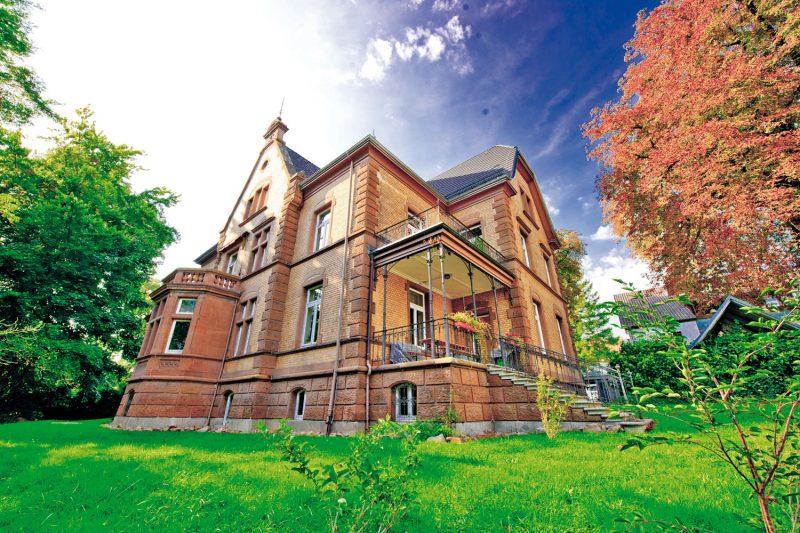 Früherkennzungszentrum in der Villa Huessy (© Sigma-Zentrum)