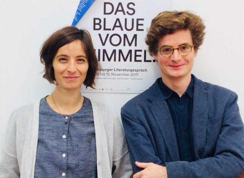 Katharina Knüppel und Martin Bruch. (© Constanze Knothe)
