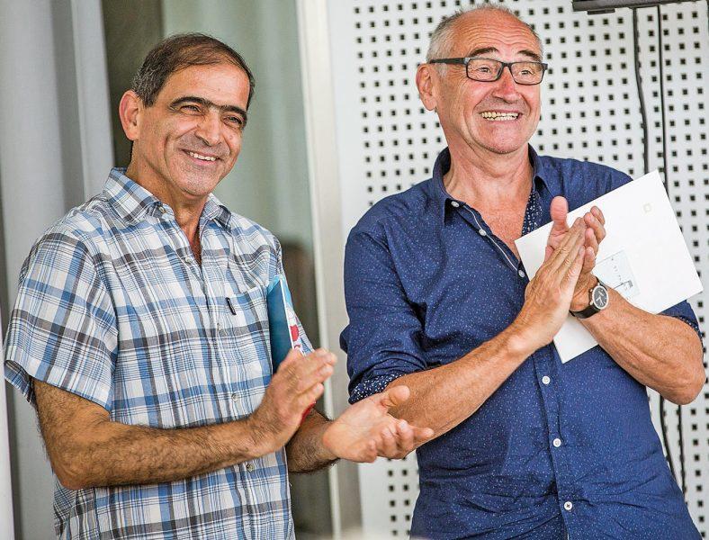 Mohammed Jambur und Heinzl Spagl (© Britt Schilling)