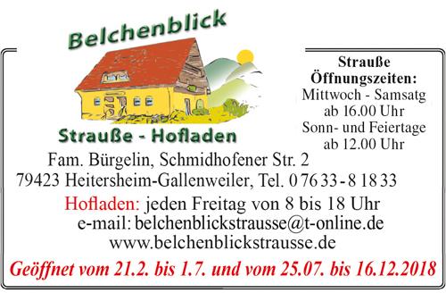 Belchenblickstrauße Heitersheim