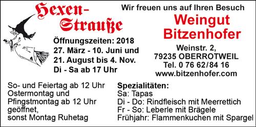 Hexenstraße Bitzenhofer Oberrotweil