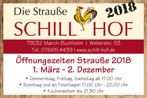 Schillhof Straße March-Buchheim