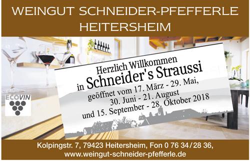 Schneiders Straussi Heitersheim