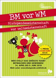 Blutspendemeisterschaft Uniklinik Freiburg