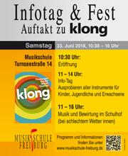 Musikschule Freiburg klong Infotag