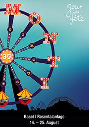 Anzeige Circus Monti 2019 Rosentalanlage Basel