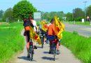 Fessenheim verabschieden, mit Kusshändchen den Rhein entlang