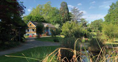 Seit 400 Jahren Ort der Wissenschaft und grüne Oase: Der Botanische Garten