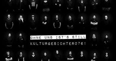 """Im Gespräch: Alexander Hässler, Initiator des Projekts """"Kulturgesichter0761 / Ohne uns ist's still"""""""