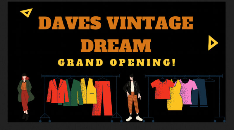Das Freiburger Start-up 'Dave's Vintage Dream' bietet Onlineshop für Vintage Secondhand Mode