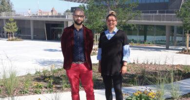 Im Gespräch: Yasmin Ulrich und Jérémy Goltzéné, Art'Rhena